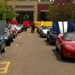 Corvettes On Main at The Village of Rochester Hills