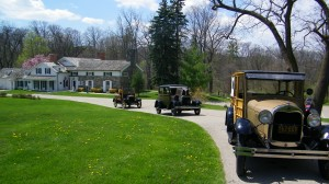 Model A and Model T cars will be on display