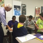 Avondale teacher Rick Kreinbring instructs students in his Advanced Placement English class Photo credit: Avondale School District