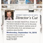Director of DIA to Talk Wednesday at PCAC