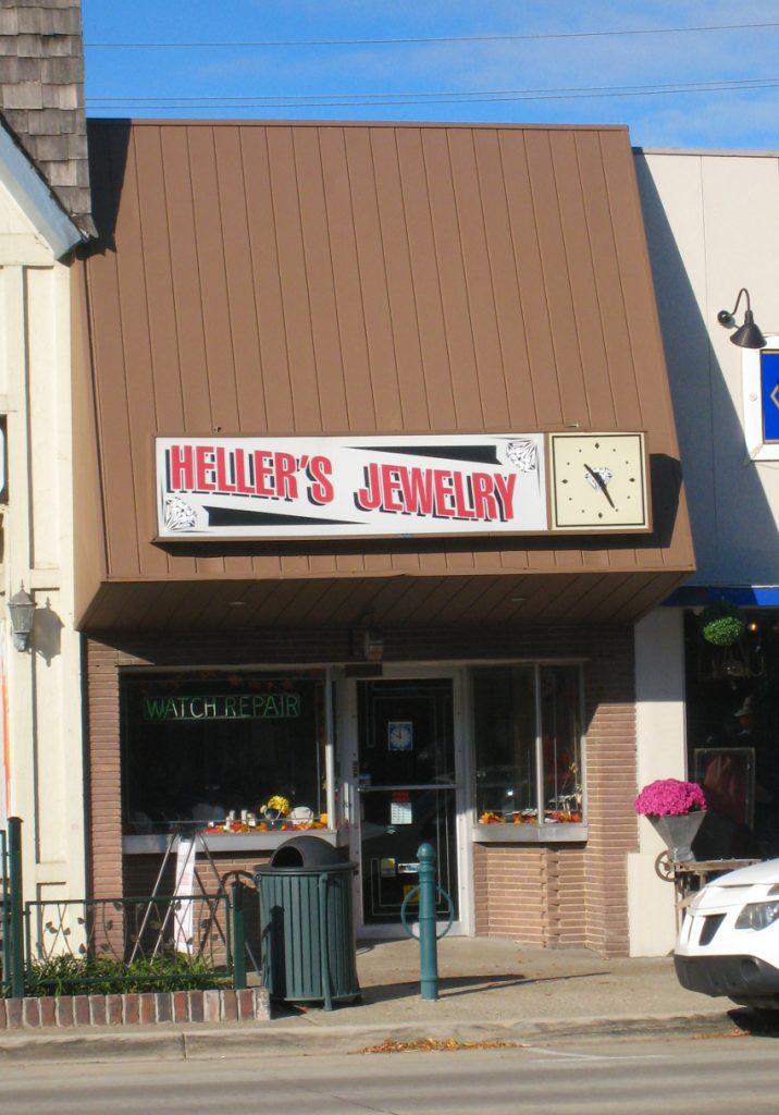 Heller's Jewelry - Photo by Deborah J. Larsen