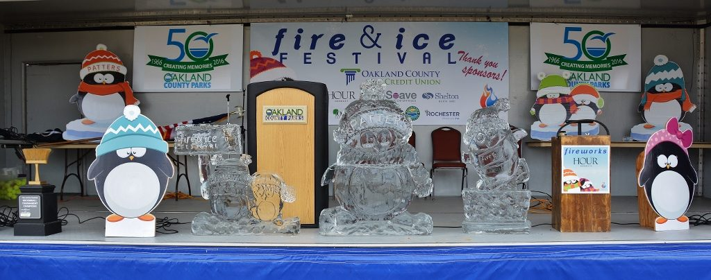 The Fire & Ice Festival in Downtown Rochester Runs January 20-22, 2017 - Photo by Michael Dwyer