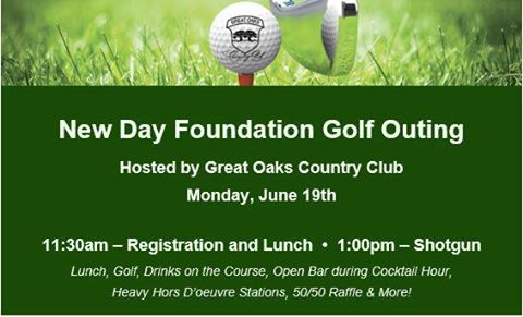 New Day Foundation Golf Outing to be Hosted by Great Oaks Country Club
