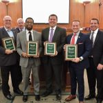 Oakland County Commissioners Honor Departing Colleagues
