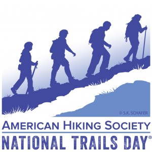 National Trails Day Logo