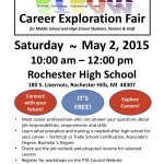 Students Encouraged to Check Out the STEAM Career Exploration Fair