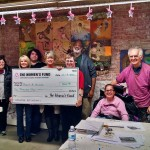 The Women's Fund Presents Grant to Paint A Miracle