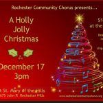 Rochester Community Chorus presents 'A Holly Jolly Christmas'