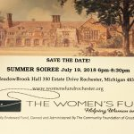 The Women's Fund Summer Soiree July 19