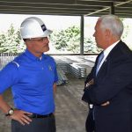 Superintendent Shaner Engages with Vice President Pence