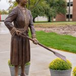 Matilda Dodge Wilson Statue Unveiled at Homecoming